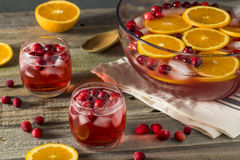Free Red Cranberry Holiday Punch Royalty Free Stock Image - 79180246