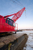 Red Crane Stock Photography