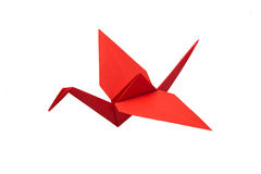 Red crane Royalty Free Stock Photos