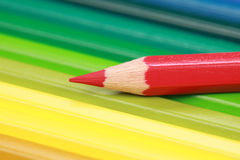 Red Crayon Royalty Free Stock Image