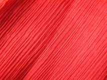 Red Crepe Fabric. Macro of red crepe fabric used for manufacturing clothes royalty free stock photos