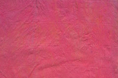 Red crepe paper background. Texture Royalty Free Stock Images