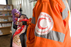 Red Crescent Royalty Free Stock Photos
