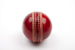 Red Cricket Ball Stock Photos