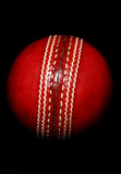 Red cricket ball Royalty Free Stock Photography