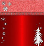 Red cristmas background Royalty Free Stock Photos