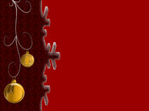Red cristmas background Stock Photo