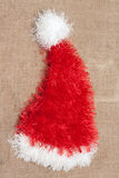 Red cristmas hat santa Royalty Free Stock Photo