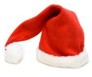 Red cristmas hubcap santa Royalty Free Stock Image