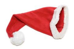 Red cristmas hubcap santa Royalty Free Stock Photo