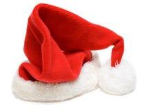 Red cristmas hubcap santa Stock Photos