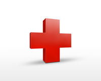 Red cross Stock Image