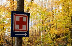 Red cross Stock Images