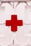 Red Cross Medical Sign Royalty Free Stock Photos