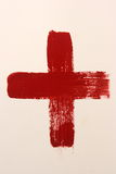 Red Cross Society. A red medical symbol, Red Cross Society Royalty Free Stock Photography