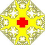 Red Cross texture Stock Photos