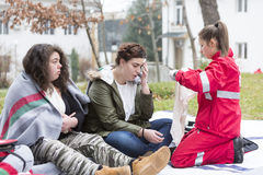 Red Cross Youth Stock Photos