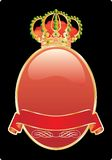 Red crown Royalty Free Stock Photo