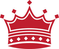 Red Crown. Image of a red crown Stock Images