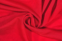 Red crumpled nonwoven fabric background Royalty Free Stock Photography