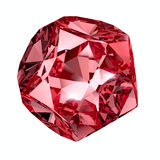 Red crystal Royalty Free Stock Images