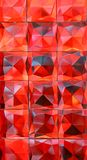 Red crystal facet background. A Red crystal facet background royalty free stock images