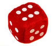 red  cube Stock Photography