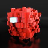 Red cube Stock Images