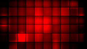 Red cubes. An abstract background of red cubes Stock Photography