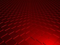 Red cubes background Stock Photo