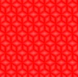 Red cubes pattern seamless background vector. royalty free illustration