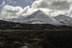 Red Cuillin on the Isle of Skye Royalty Free Stock Photo