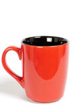 Red cup. On a white background Royalty Free Stock Photography