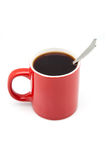 Red cup from coffee Stock Image