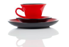 Red cup of tea Royalty Free Stock Images