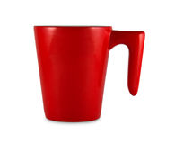 Red cup Royalty Free Stock Photography
