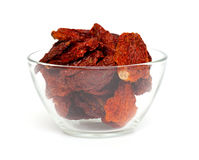 Red curarnts in a bowl Stock Image
