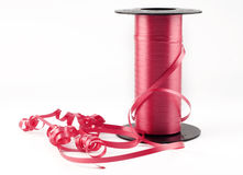 Red Curling Ribbon Royalty Free Stock Photos
