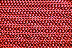 Red curly zigzag mat texture Stock Image