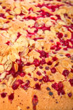 Red currant cake Royalty Free Stock Image