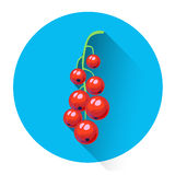 Red Currant Colorful Berry Icon Royalty Free Stock Image