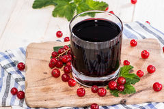 Red Currant Juice Royalty Free Stock Photo
