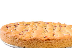 Red currant pie Royalty Free Stock Images