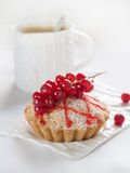 Red currant pie Royalty Free Stock Photo