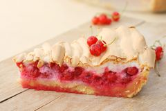 Red currant pie Stock Photography