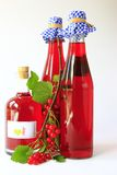 Red currant wine royalty free stock photography