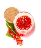 Red current jam Royalty Free Stock Image