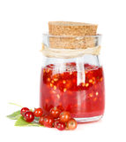 Red current jam Stock Photography