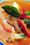 Red curry beef Royalty Free Stock Photography