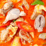 Red curry chicken Stock Photos